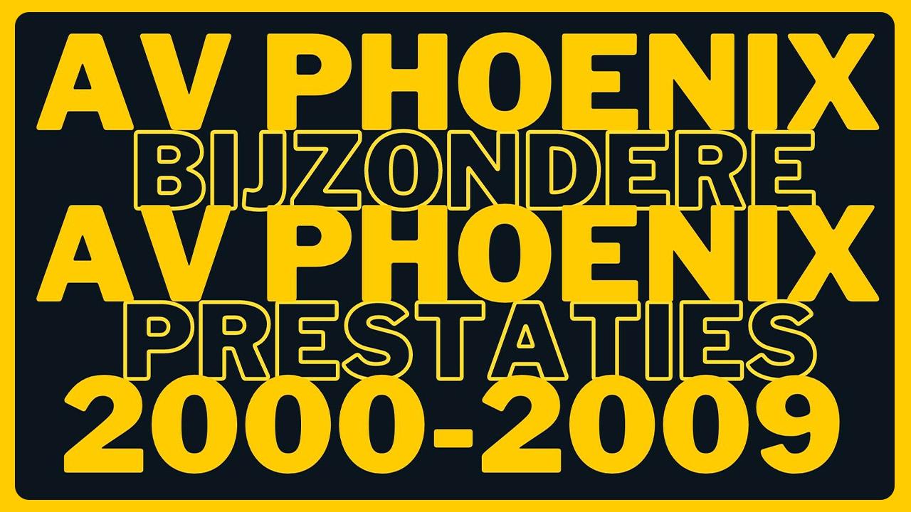 Bijzondere prestaties 2000 - 2009