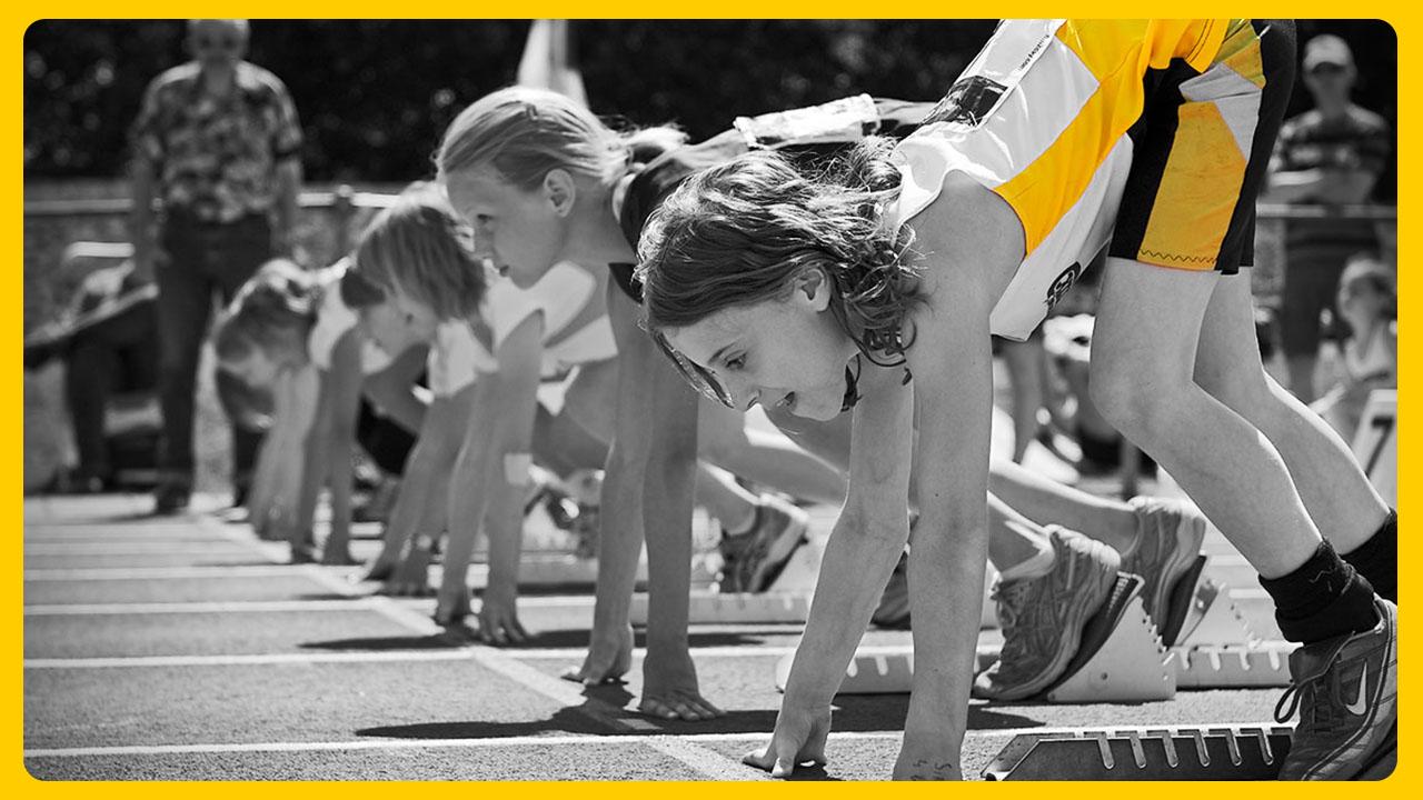 Technieken van de werponderdelen: sprong en sprintvormen