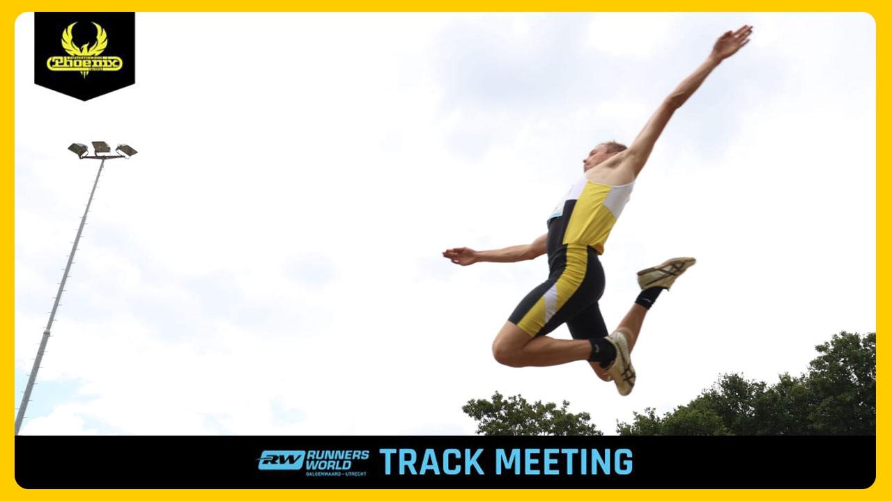 Marco Jansen in actie tijdens Track Meeting 2020