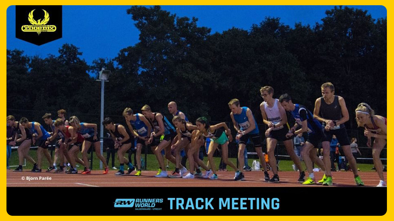 AV Phoenix in actie 3000 track meetings