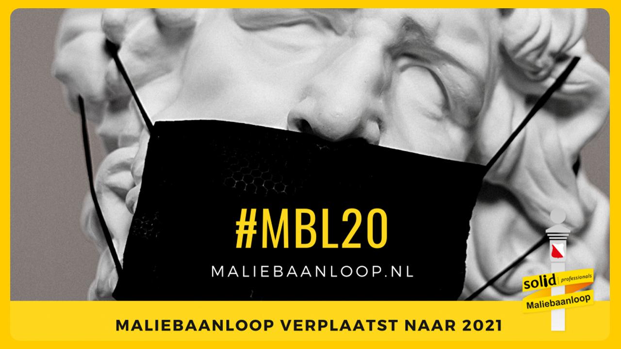 Maliebaanloop verplaatst naar 17 oktober 2021