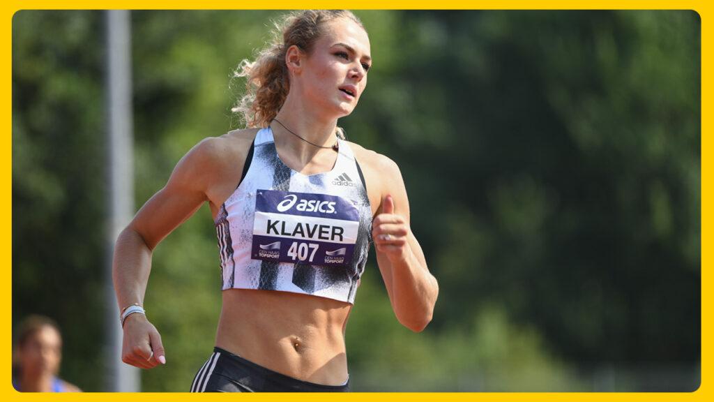 Met Lieke Klaver, dit jaar de snelste met 22.66 seconden