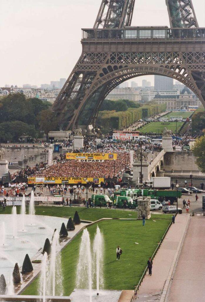20km Parijs Recreanten Jubileum Weekend foto van parijs