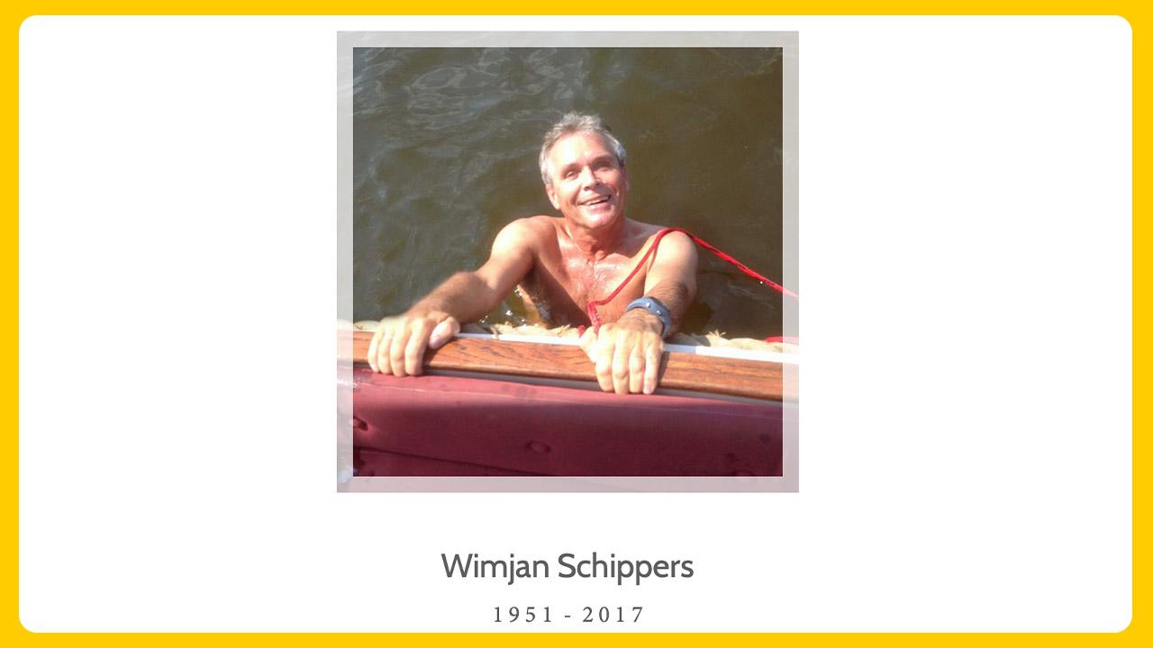 Overlijden Wimjan Schippers