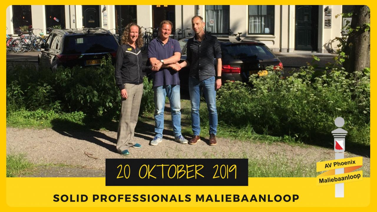 Solid Professionals nieuwe hoofdsponsor Maliebaanloop