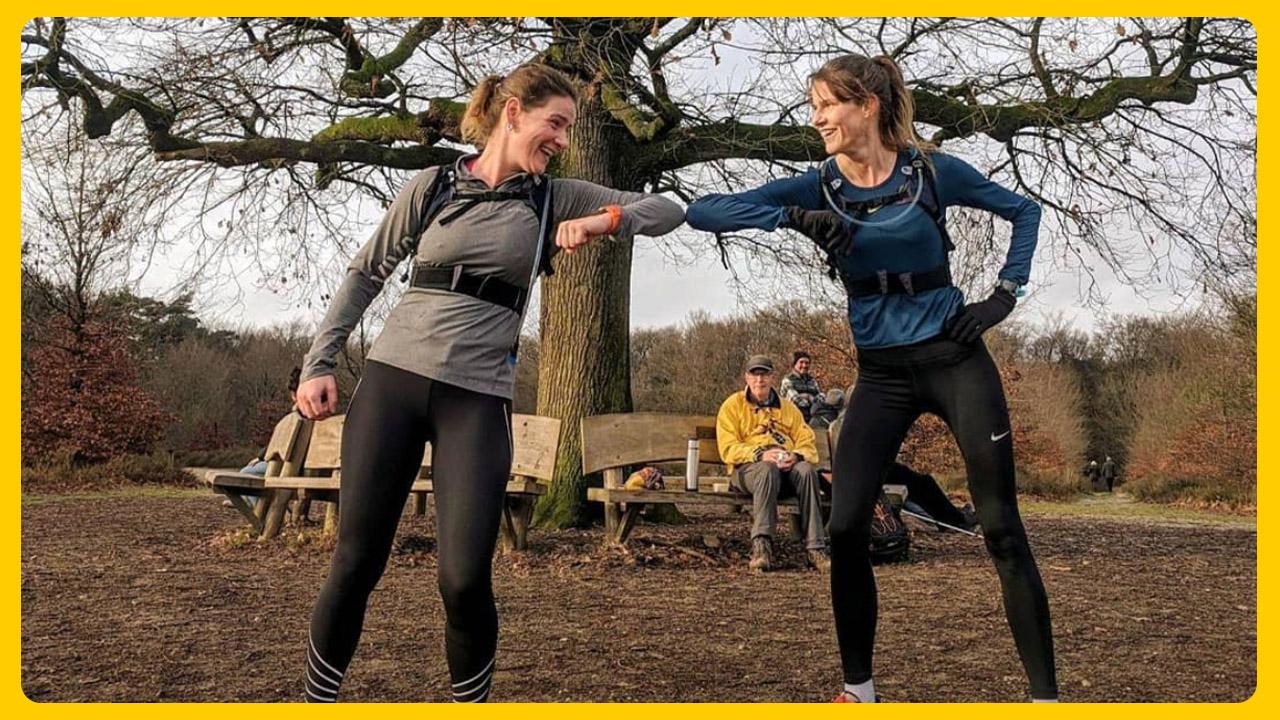 Lekker trailen over de Utrechtse Heuvelrug met Mariska en Anouk
