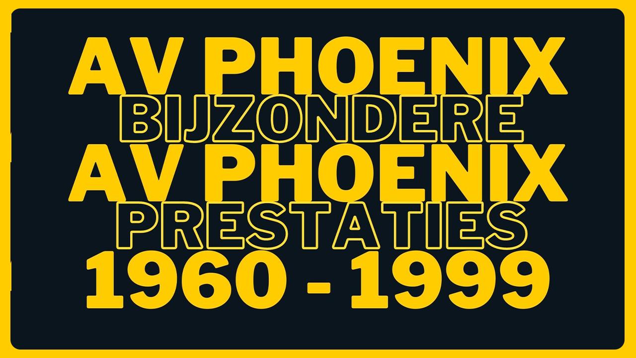 Bijzondere prestaties 1960 - 1999