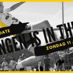 springen is in the air wedstrijd poster