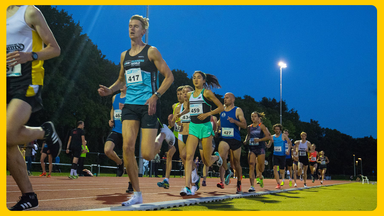 Runnersworld Track Meetings 16 mei voor nationale top- en subtopatleten